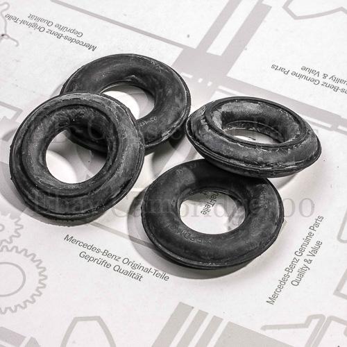 4x Auspuff Gummi für Mercedes Benz R107 W123 W108 W109 W110 W111 W116 W114 W115
